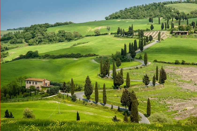 Tuscany, endless sweetness
